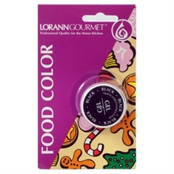 LorAnn Oils Black Gel Food Coloring - 1/2 Ounce Jar